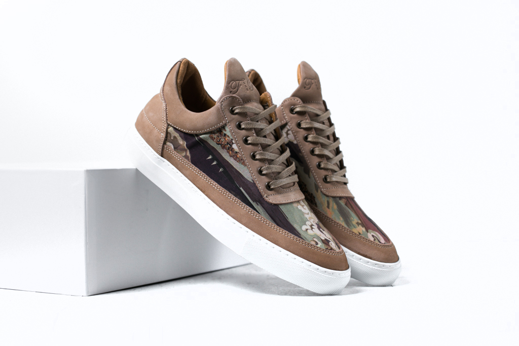Liberty of London x Filling Pieces 2014 Fall/Winter Low Top Trainers