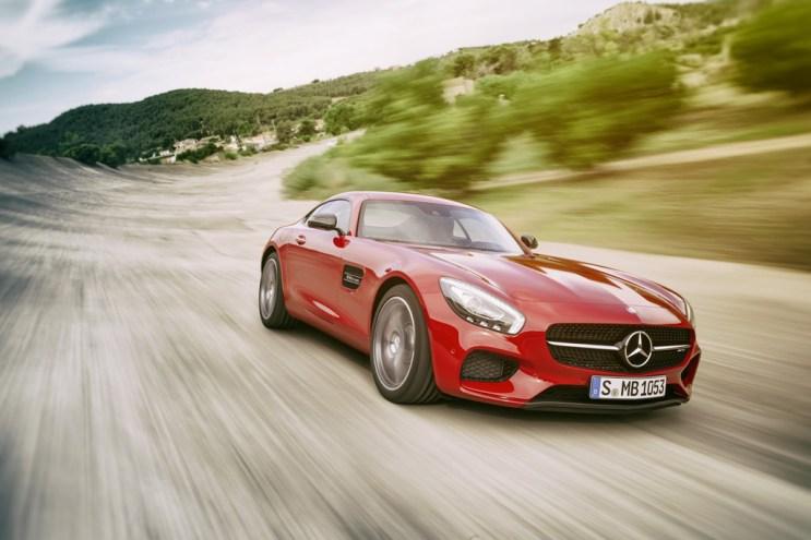 Mercedes-Benz Unveils the AMG GT