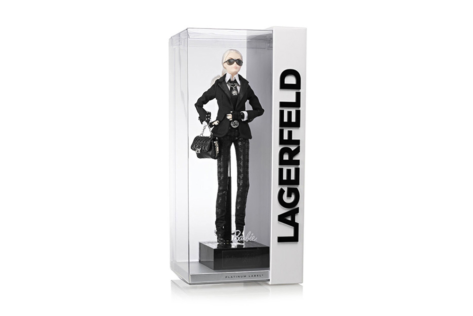 NET-A-PORTER Sold $220,000 USD Worth of Karl Lagerfeld Barbie Dolls in a Few Hours