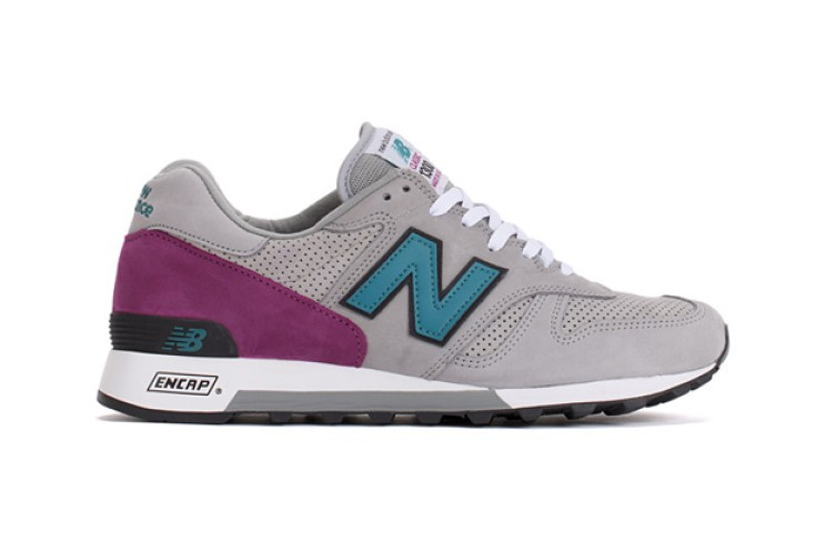 New Balance 1300 Light Grey/Teal/Purple