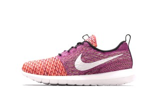 """Nike Unveils its One-of-a-Kind Flyknit Roshe Run """"Random Yarn Color"""" Pack"""