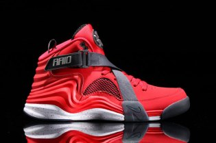 Nike Lunar Raid University Red/White/Black/Wolf Grey