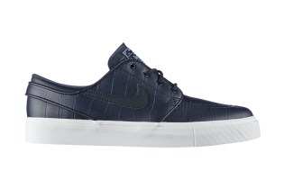 "Nike SB Zoom Stefan Janoski Leather QS ""Blue Croc"""