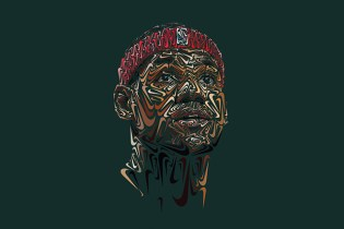 Nike Swoosh Portraits of Paul Rodriguez, LeBron James and Tiger Woods