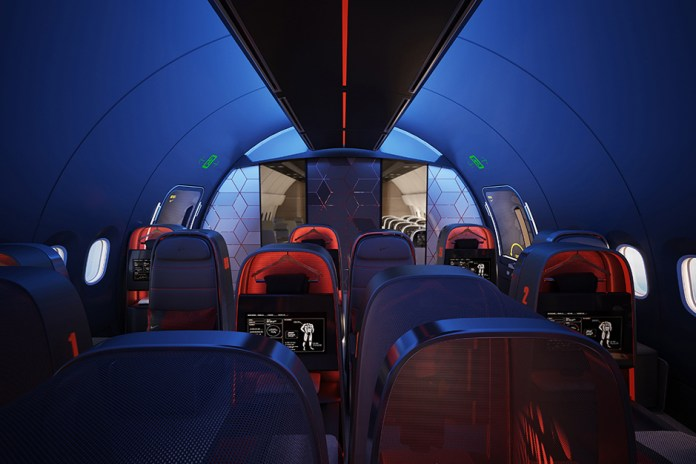 Nike Conceptualizes the Ultimate Private Jet for Athletes