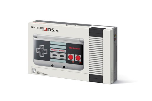Nintendo Gets Nostalgic with New 3DS XL