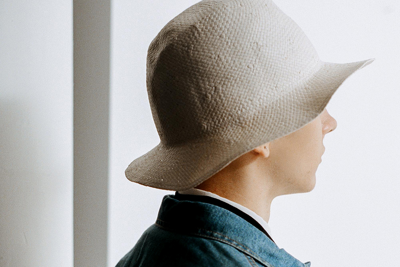 Our Legacy x Larose Paris Paper Bucket Hat