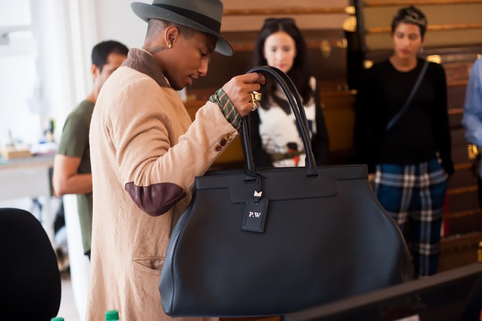 Pharrell Collaborates with Moynat on Handbags