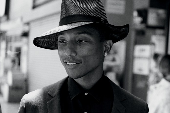 Pharrell Williams by Peter Lindbergh for WSJ. Magazine
