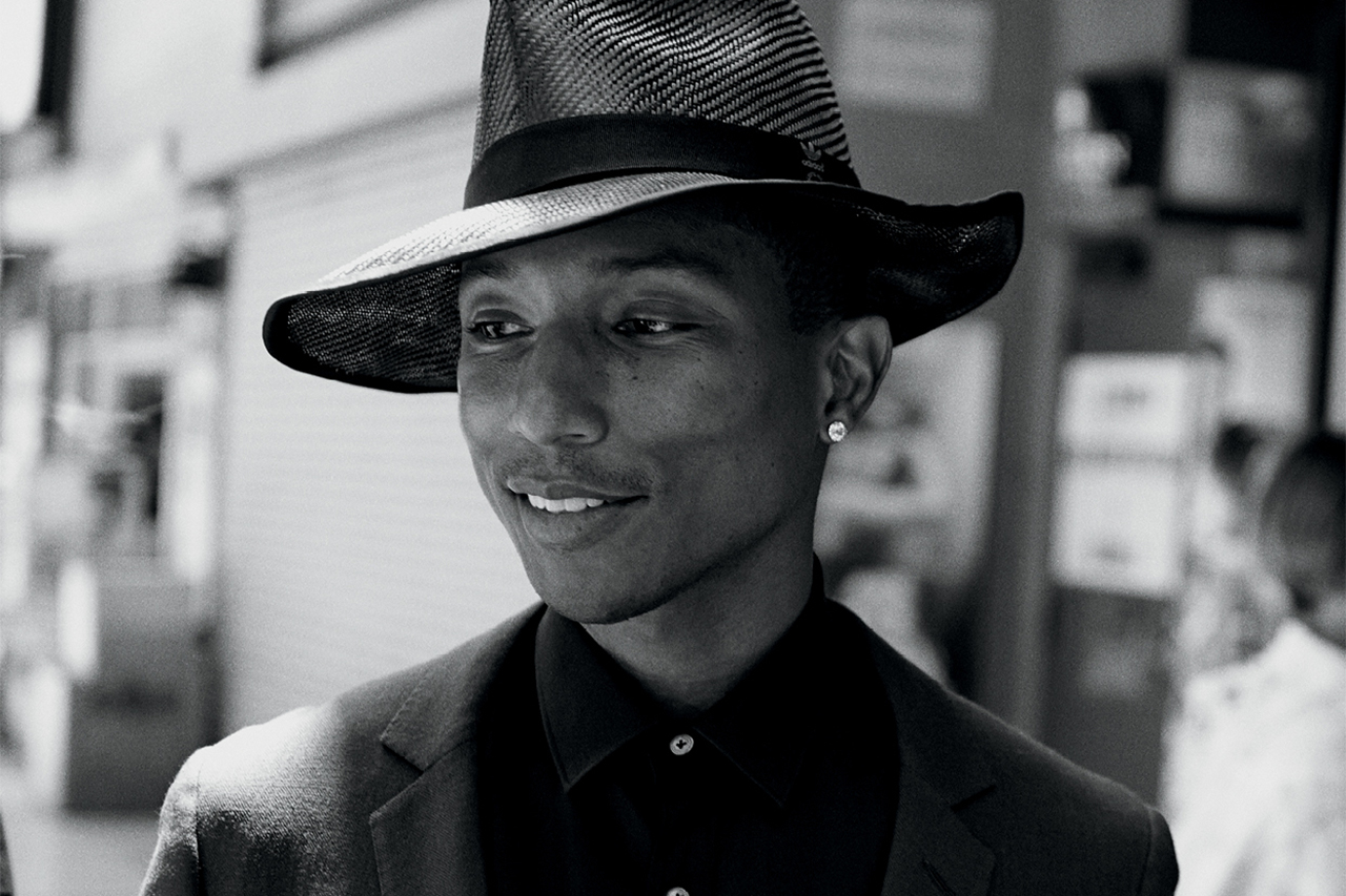 pharrell williams by peter lindbergh for wsj magazine