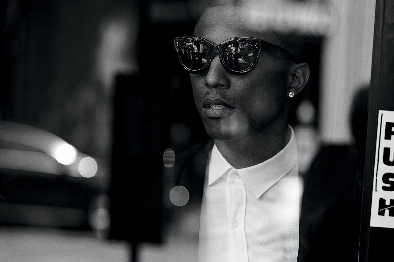 Pharrell Williams by Peter Lindbergh for WSJ. Magazine