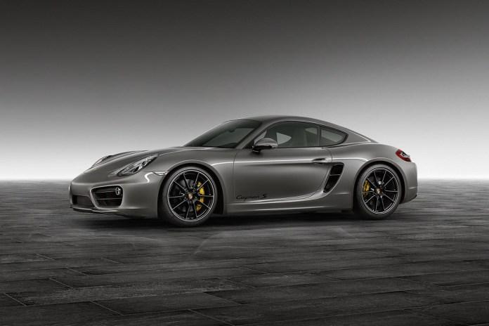 Porsche Exclusive Agate Grey Cayman S