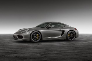 Porsche Exclusive Agate Grey Cayman S