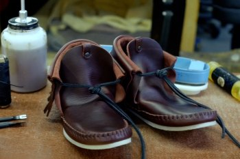Ken Diamond: Part 2 - Handcrafting the Koko Moccasin