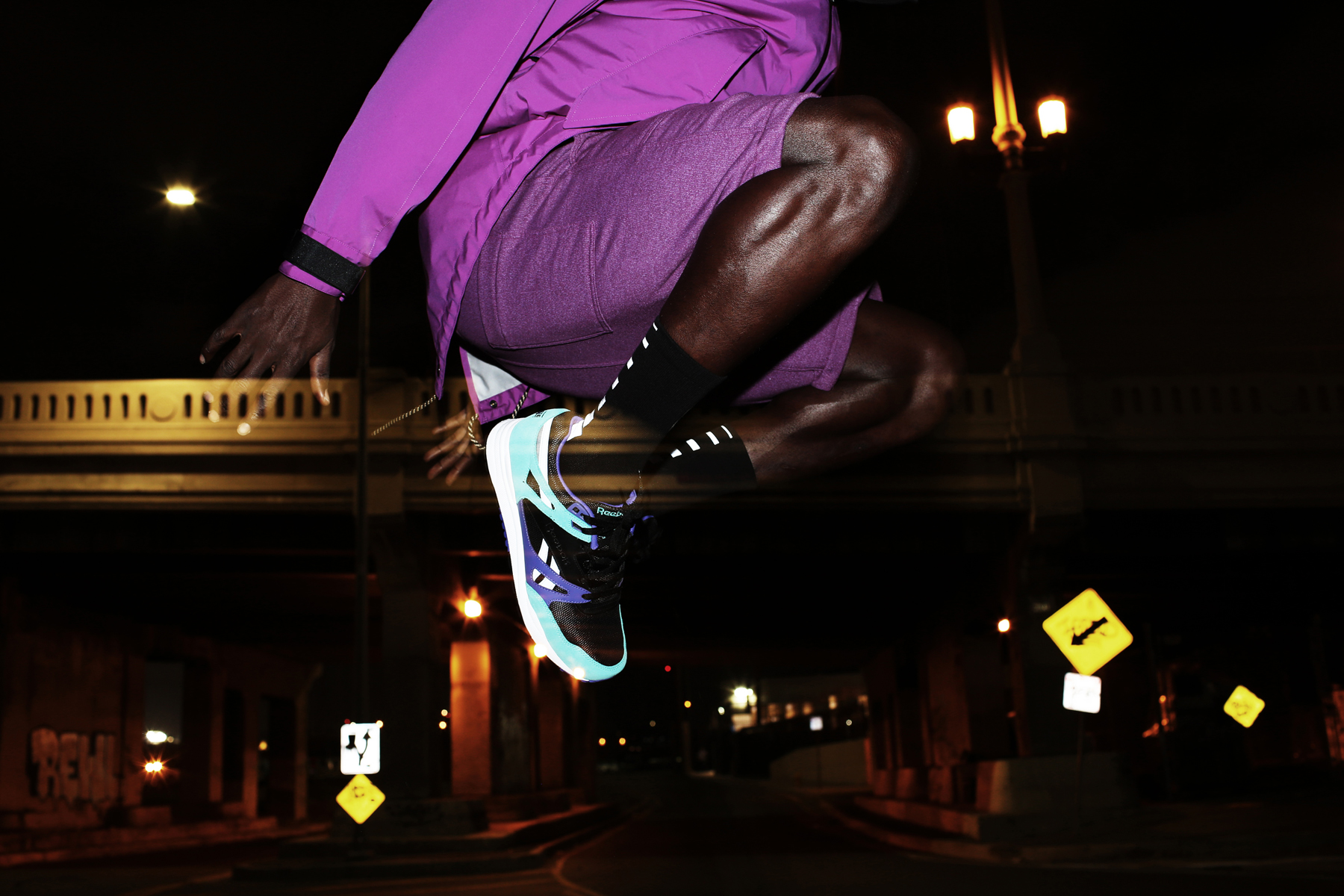 "Reebok ""Night Vision"" Ventilator Editorial by Ja Tecson"