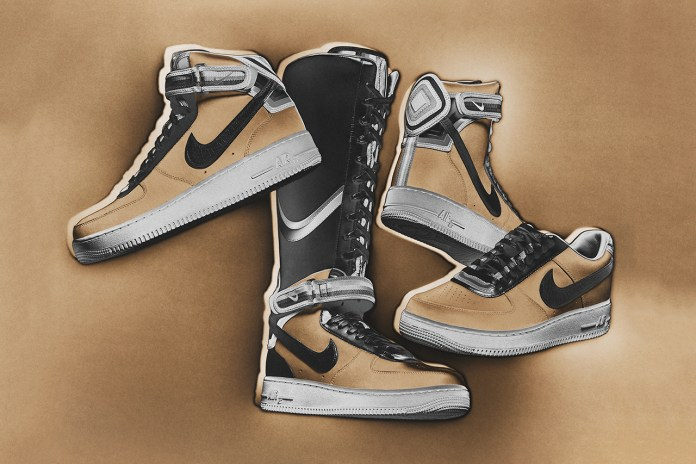 """Nike + R.T. Air Force 1 """"Triangle Offense"""" Collection"""