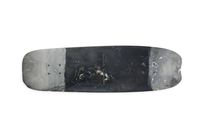 """Rick Owens """"RICKBOARD"""" Skate Deck"""
