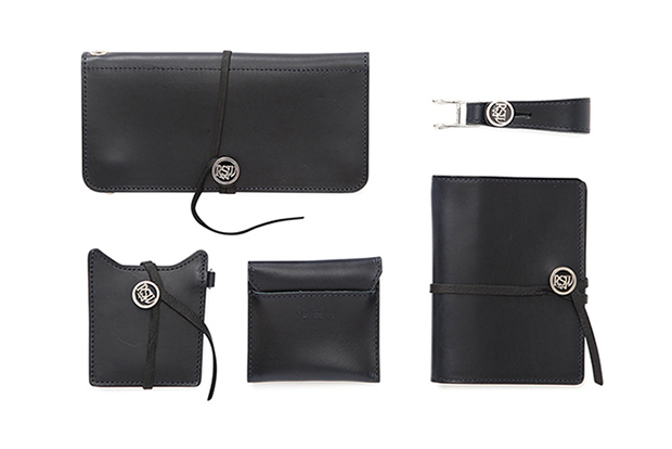 Rock Steady x BEAUTY & YOUTH 2014 Fall Navy Leather Accessories
