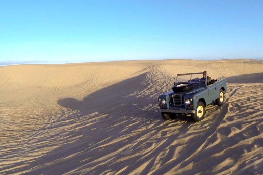 The Land Rover Series III Hits the Sand Dunes in the Latest Petrolicious Video