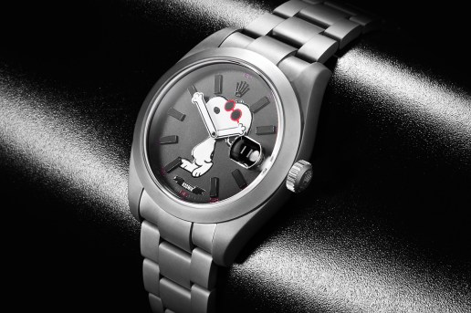 Snoopy x Rodnik Band x Bamford Watch Department Rolex Datejust