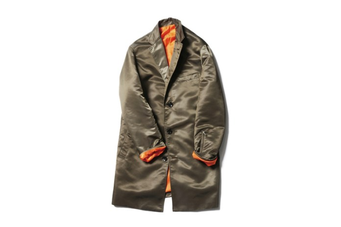 SOPHNET. 2014 Fall/Winter Military Long Jacket