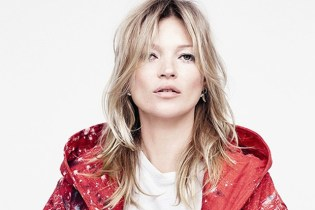 Kate Moss Models Sterling Ruby x Raf Simons 2014 Fall/Winter Collection for AnOther Magazine