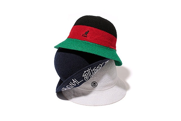 Stussy x Kangol 2014 Fall/Winter Bucket Hat Collection
