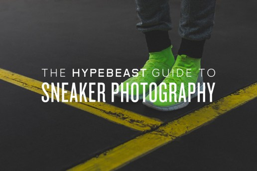 The Guide to Sneaker Photography