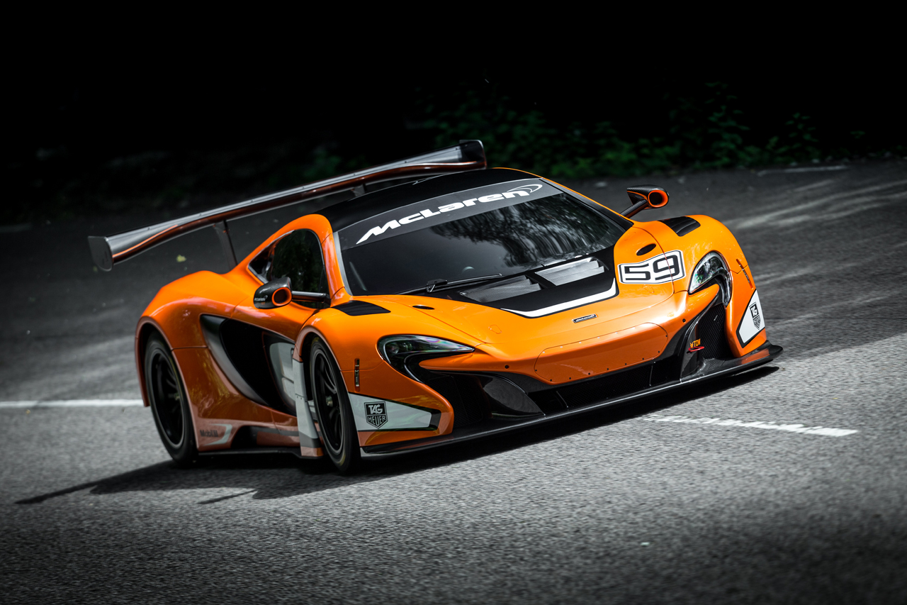 "The McLaren 650S GT3 Stars in ""The Chase"""
