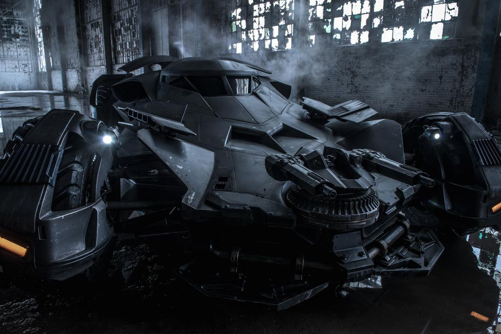 Batman's New Batmobile from Batman v Superman: Dawn of Justice