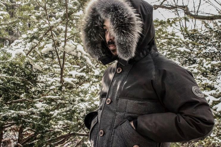 Uncle Otis x Canada Goose 2014 Fall/Winter the Otis Parka