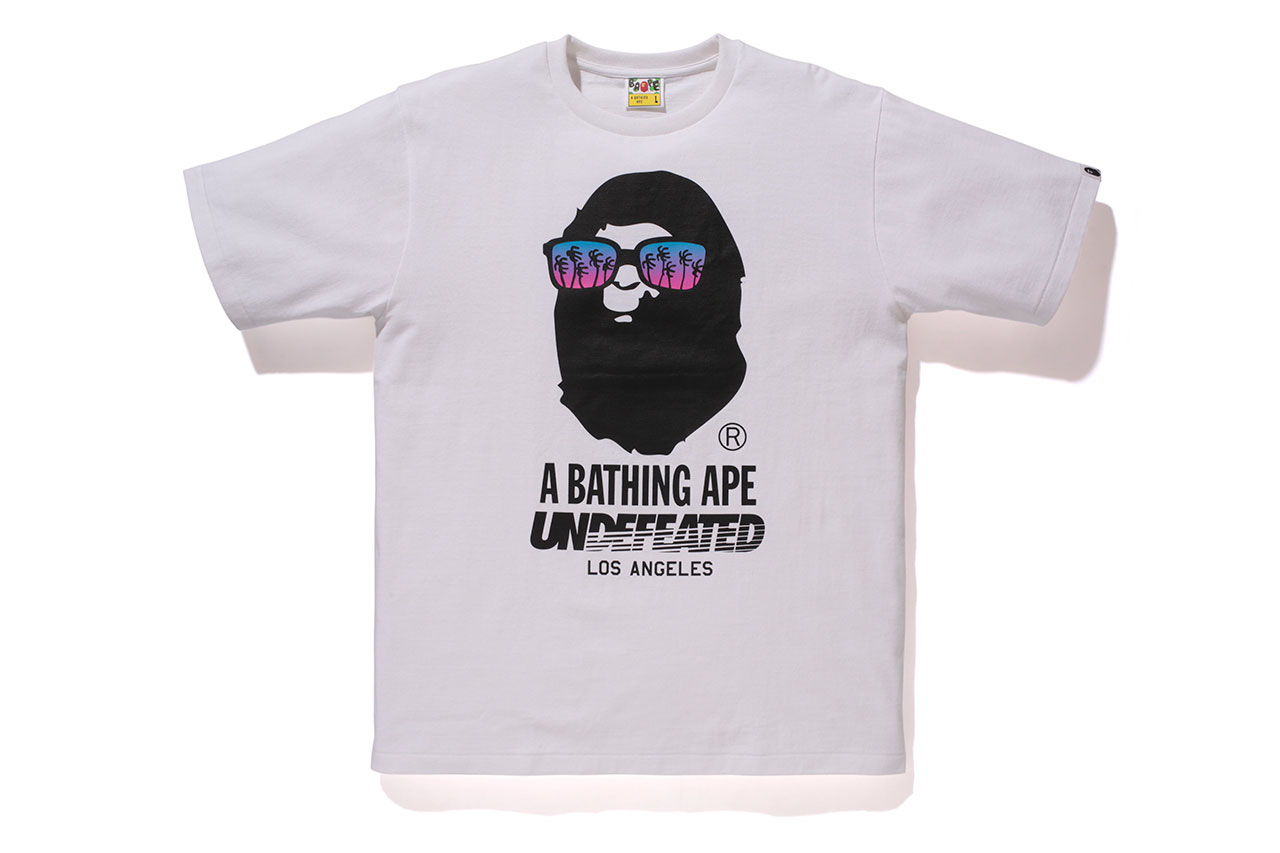 undefeated x a bathing ape 2014 capsule collection