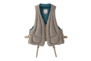 visvim 2014 Fall/Winter P.F.D. VEST (LINEN)