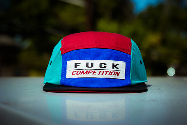 WEMADEIT New York #FUCKCOMPETITION Olympic 5-Panel Cap