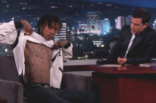 "Wiz Khalifa Talks 'Blacc Hollywood' & Performs ""We Dem Boyz"" & ""Stayin' Out All Night"" on 'Jimmy Kimmel Live!'"