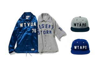 WTAPS x Ebbets Field Flannels 2014 Fall/Winter Collection