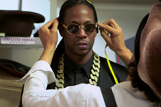 2 Chainz Tries On $25K Hat with GQ