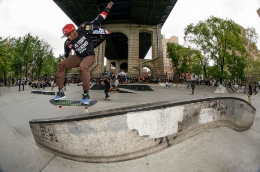 Zoo York Celebrates Harold Hunter Day VIII at LES Skatepark in Manhattan