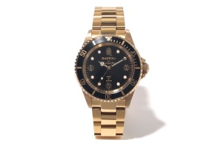 A Bathing Ape TYPE 1 BAPEX Black/Gold