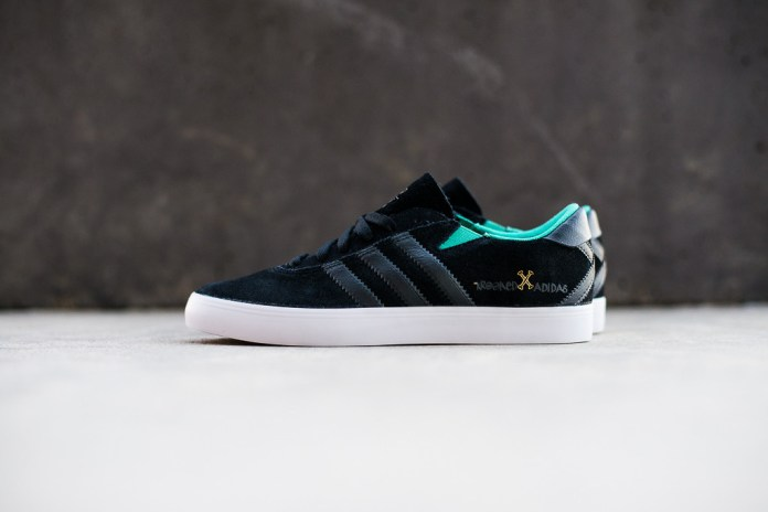 A Closer Look at the Krooked Skateboards x adidas Skateboarding Gonz Pro