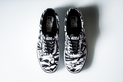 "A Closer Look at the Star Wars x Vans Era ""Dark Side/Storm Camo"""