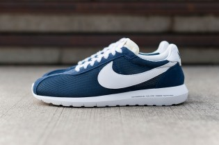 "A First Look at the fragment design x Nike Roshe LD-1000 SP ""Dark Navy"""