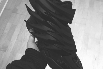 "A First Look at the Jeremy Scott x adidas Originals JS Wings ""Dark Knight"""