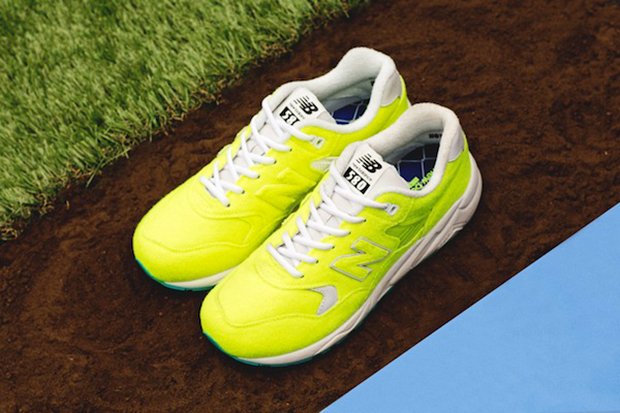 """A First Look at the mita sneakers x New Balance MRT580 """"The Battle of Surfaces"""""""