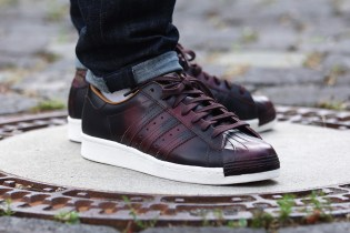 "adidas Originals Superstar 80s ""Night Red"""
