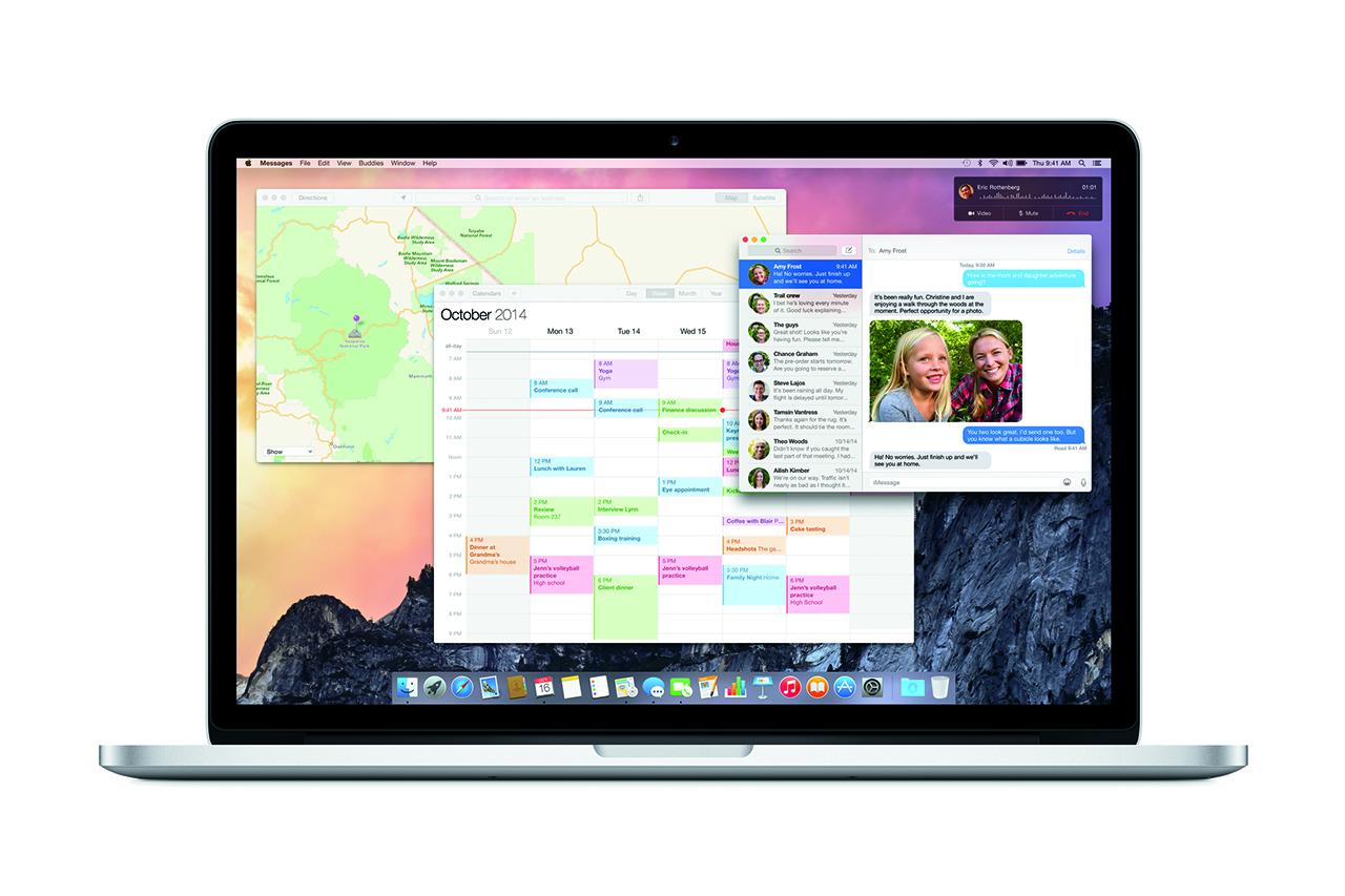Apple Launches OS X Yosemite