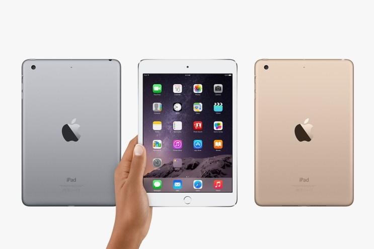 Apple Unveils the iPad mini 3