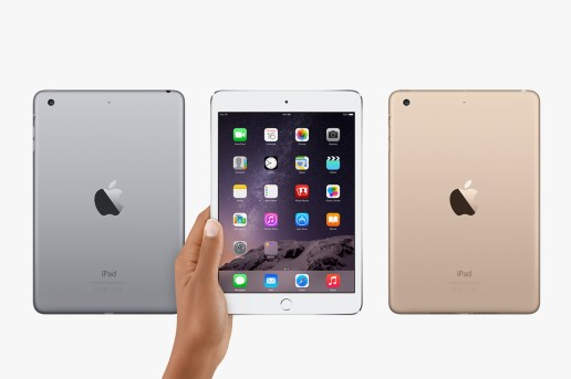 Apple Unveils the iPad mini 3