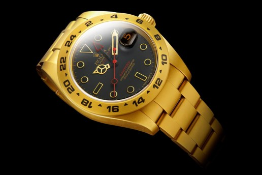 "Bamford Watch Department Rolex Explorer II ""Element 79"""