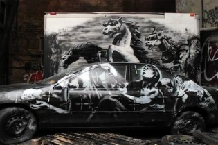 "Banksy Does New York in a Sneak Peek for His ""Better Out Than In"" Documentary"
